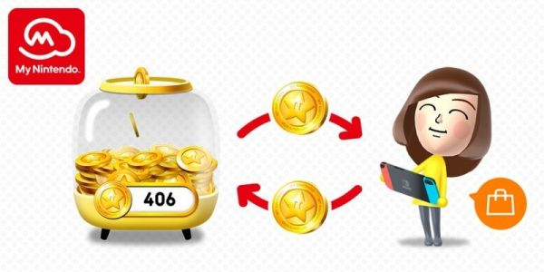 You'll soon be able to redeem your My Nintendo Gold Points in the Switch eShop