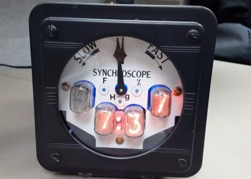 Nixie Clock Weather Station Constructed From Nuclear Plant Indicator And Arduino Mega