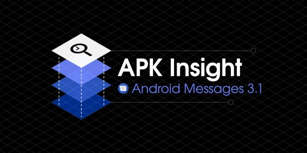 Android Messages 3.1 preps P support, GIF search, more Smart Replies, Google account for web app