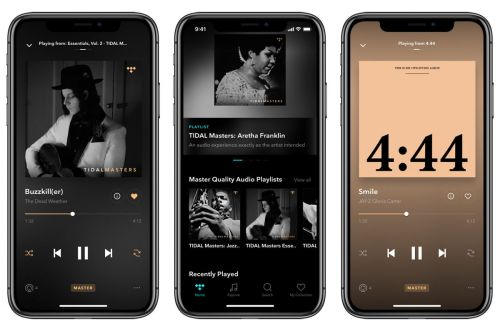 Tidal's iOS App Gains Support For Hi-Fidelity Audio