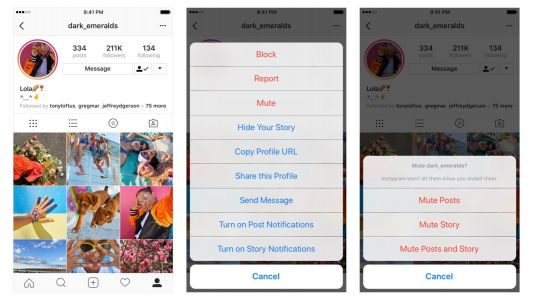 Instagram now lets you mute friends so you can un-see bad photos without unfollowing