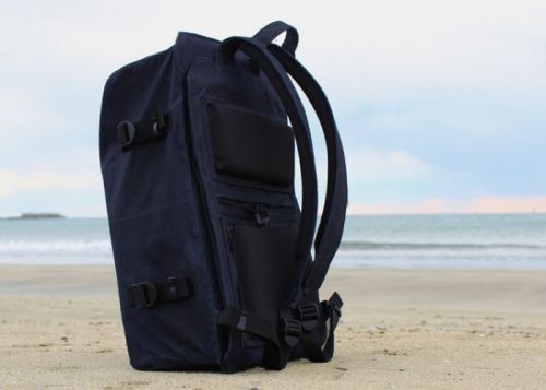 STORIO waterproof, canvas, anti-theft everyday backpack