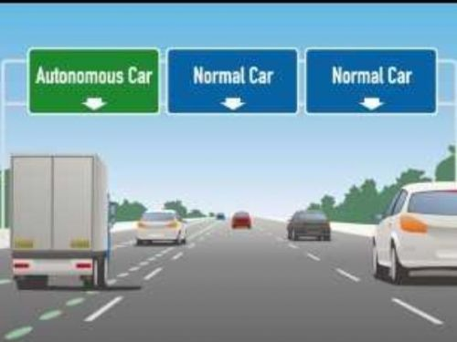 Foxconn Considering A Driverless Lane For Wisconsin's I-94