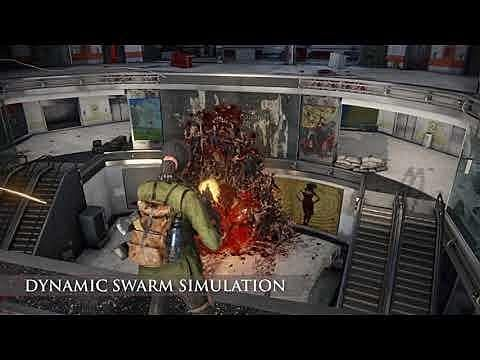 World War Z's Zombie Horde Detailed