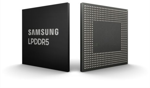 Future iPhones Could Use Samsung's Industry-First LPDDR5 DRAM