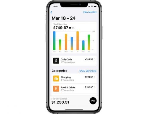 Apple Card Doesn't Support Exporting Data to Financial Apps