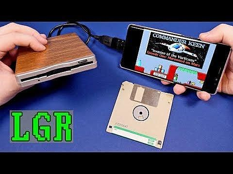 Got Floppy Disks? Now You Can Play Them on Your Droid