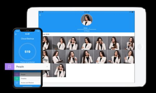 IDrive adds facial recognition to automatically organize your photos