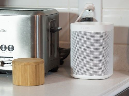 You can now listen to audiobooks from your library through Sonos speakers