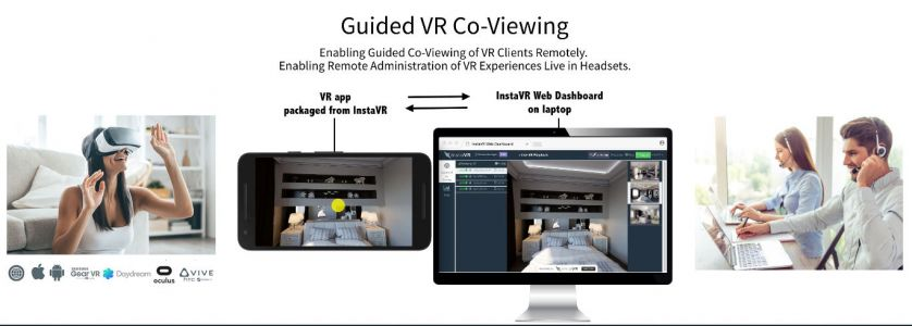 InstaVR Unveils Cross-Platform Guided VR Co-Viewing