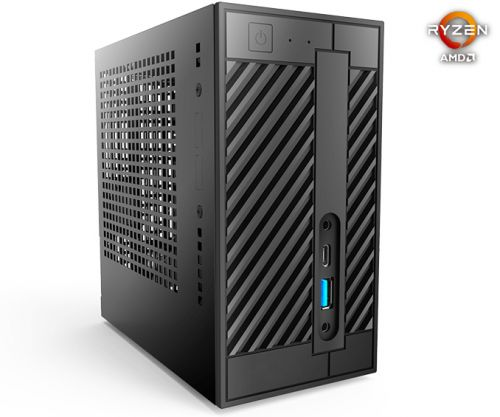 ASRock at CES 2019: DeskMini A300, World's First AMD Ryzen Mini STX PC Launched