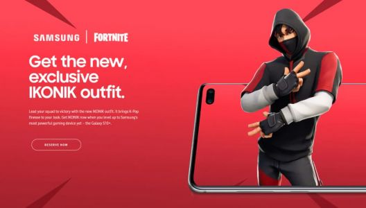 Get A K-Pop Fortnite Skin When You Pre-Order Galaxy S10+