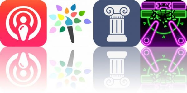 Today's Apps Gone Free: PodCruncher, Paintkeep, History Events and More