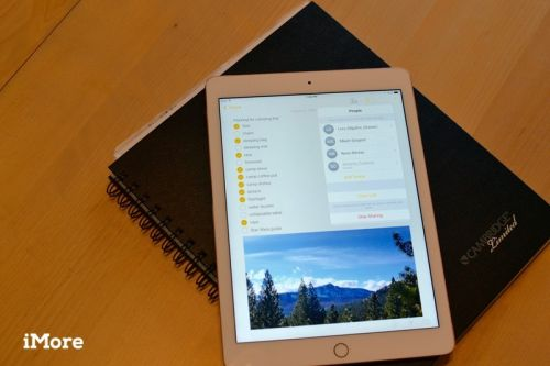 How to collaborate with others in the Notes app on iPhone and iPad