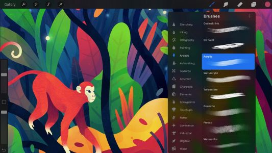 Procreate 4 brings interface overhaul, new Metal engine for performance improvements, more