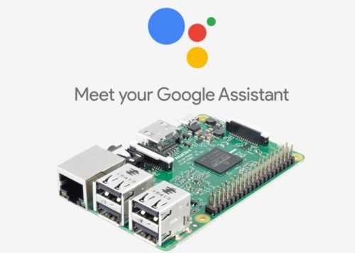 Raspberry Pi running Google Assistant