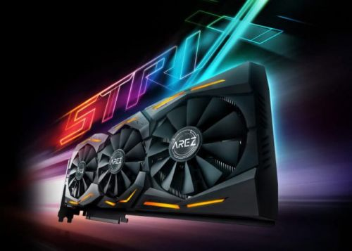 ASUS Radeon RX 590 ROG STRIX graphics card launching imminently