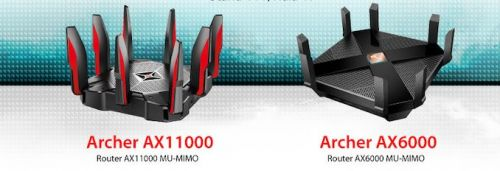 TP-Link Announces Archer AX6000 and AX11000 Wi-Fi 6 Routers