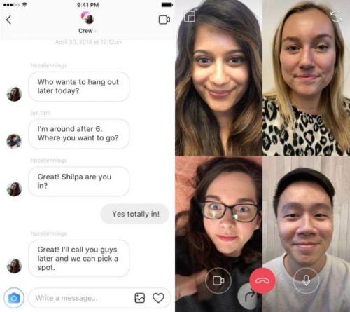 Instagram Video Chat Goes Live Today