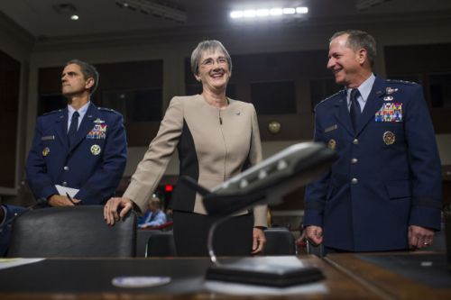 Air Force ready to work on Trump's Space Force idea, but