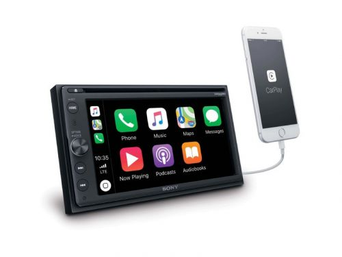 Sony announces a new CarPlay head unit, coming this fall