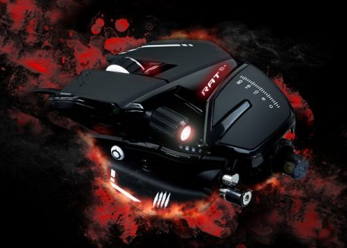 New Mad Catz R.A.T. gaming mouse range introduced