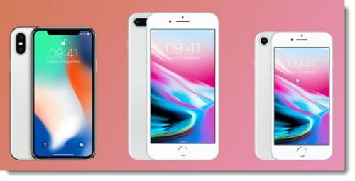New Premium Phones: Apple iPhone X, iPhone 8 & 8 Plus
