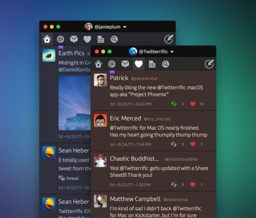 Twitterrific 5 for Mac Drops to $7.99 Following Discontinuation of Twitter's Main Mac App