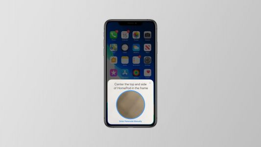 IOS 13 includes an updated HomePod setup process requiring you to scan an LED pattern