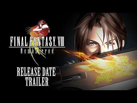 Final Fantasy 8 Remaster Gets Release Date, New Trailer