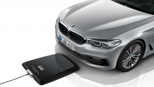 BMW is set to be the first to offer wireless car charging