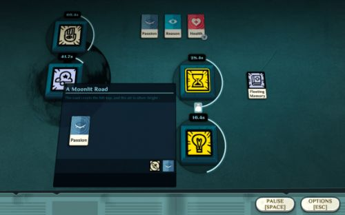 The terse poetry of Alexis Kennedy's Cultist Simulator card game