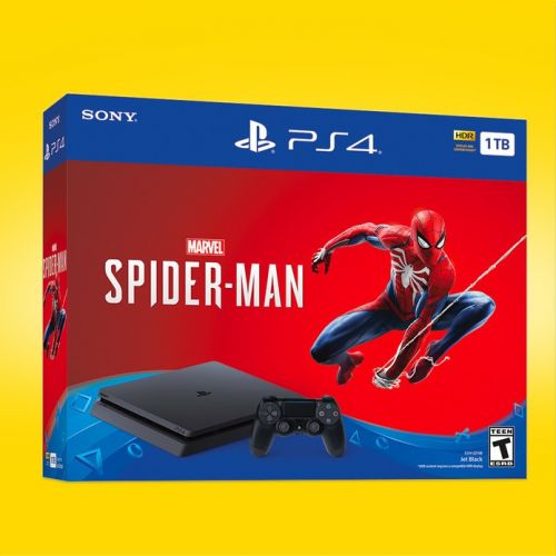 The PlayStation 4 Slim 1TB Spider-Man bundle for $199 is live now