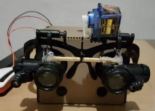 Raspberry Pi Powered Voice Controlled Magnification Glasses