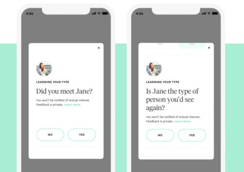 Hinge now wants to know how your date went so it can make better matches