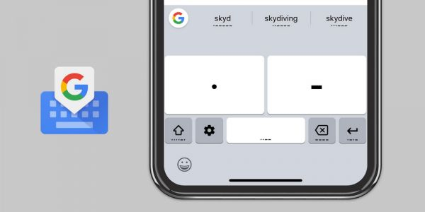 Gboard Morse input rolling out to iOS as Google releases new 'Morse Typing Trainer' game