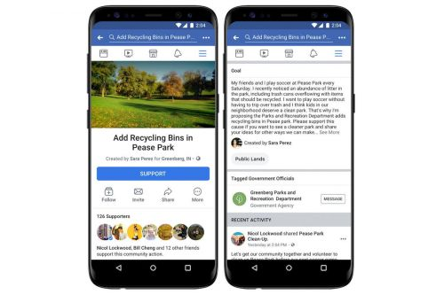 Facebook Introduces Political Petitions Feature