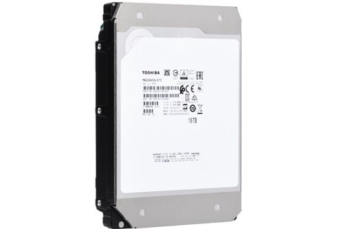 Toshiba at CES 2019: World's First 16 TB TDMR HDD Debuts