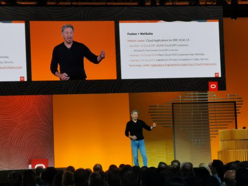 """Other cloud providers cannot keep pace with Oracle in """"developing applications"""""""