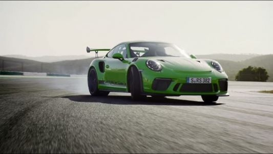 New Porsche 911 GT3 RS Goes For A Spin