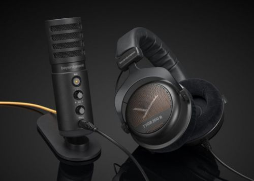 Beyerdynamic gaming headset bundle includes TYGR 300 R headphones and FOX Studio microphone