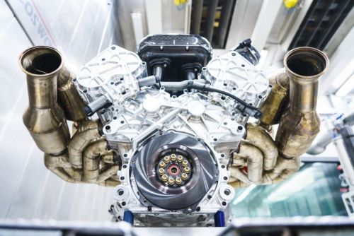 12 cylinders, 11,000rpm: Aston Martin's new engine is a monster