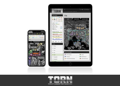 Text-Based Crime MMORPG 'TORN' Heading to iOS on January 31st