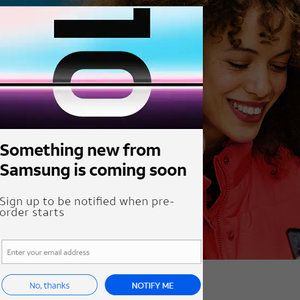 AT&T already lets you sign up for Samsung Galaxy S10 pre-order news