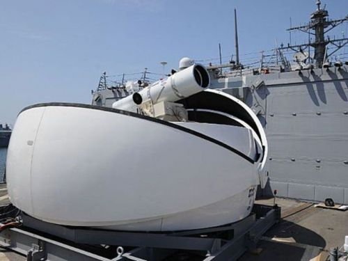U.S. Navy Might Equip A Destroyer With Laser Weapon System