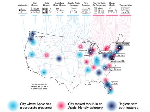 Could Apple's Fourth Campus in the US Be in Your City?