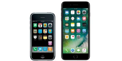 IPhone's success measured against other iconic products in 10th anniversary month