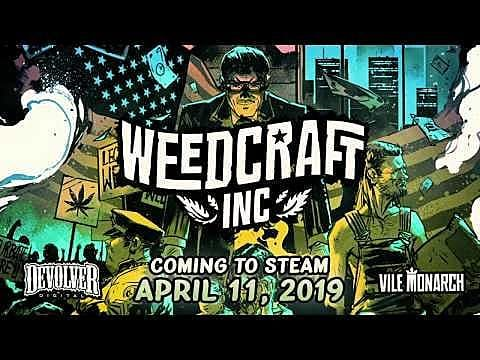 Devolver Digital's Marijuana Tycoon Game, Weedcraft Inc, Comes To Steam on April 11