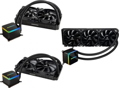 Enermax Unveils 500W-Capable LiqTech II LCS for Mainstream CPUs