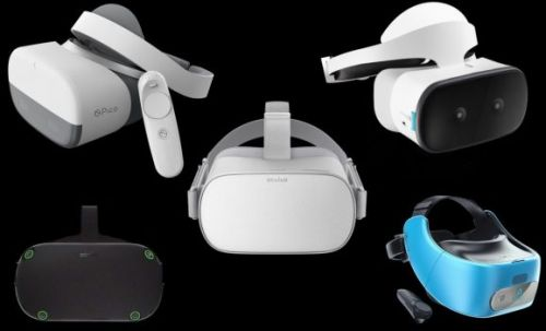 Oculus vs. Vive vs. Lenovo vs. Pico: a standalone VR headset comparison